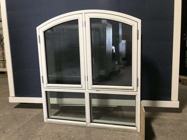 Hvide brugte vinduer